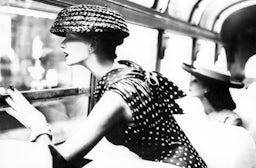 More Fashion Mileage Per Dress: Barbara Vaughn in a dress by Filcol, New York. Harper's Bazaar, 1956 | Source: © Lillian Bassman / Courtesy Staley-Wise Gallery, New York