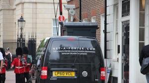 Net-a-Porter van making a delivery | Photo: Julie-Anne Pho