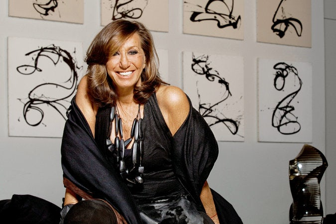 Donna Karan Exudes Calm in the Chaos