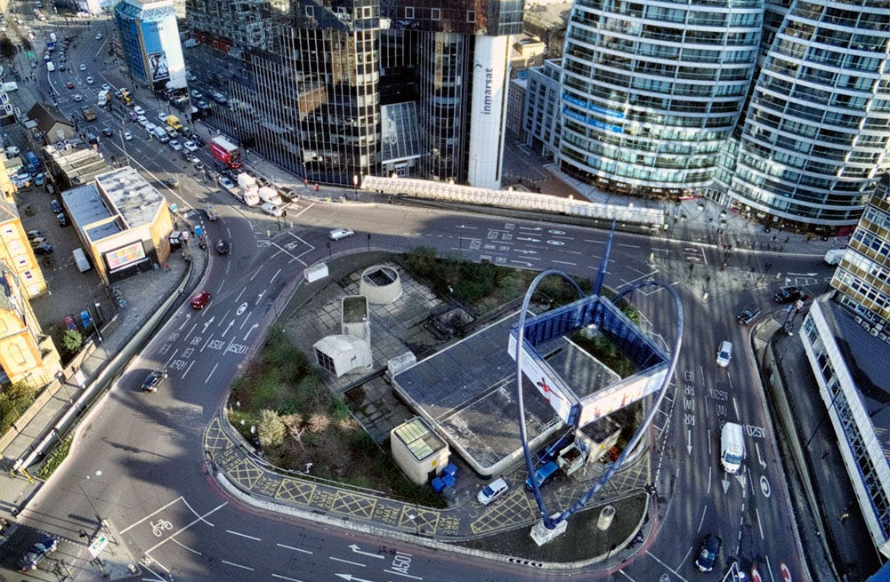 'Silicon Roundabout' in London | Source: Wikimedia