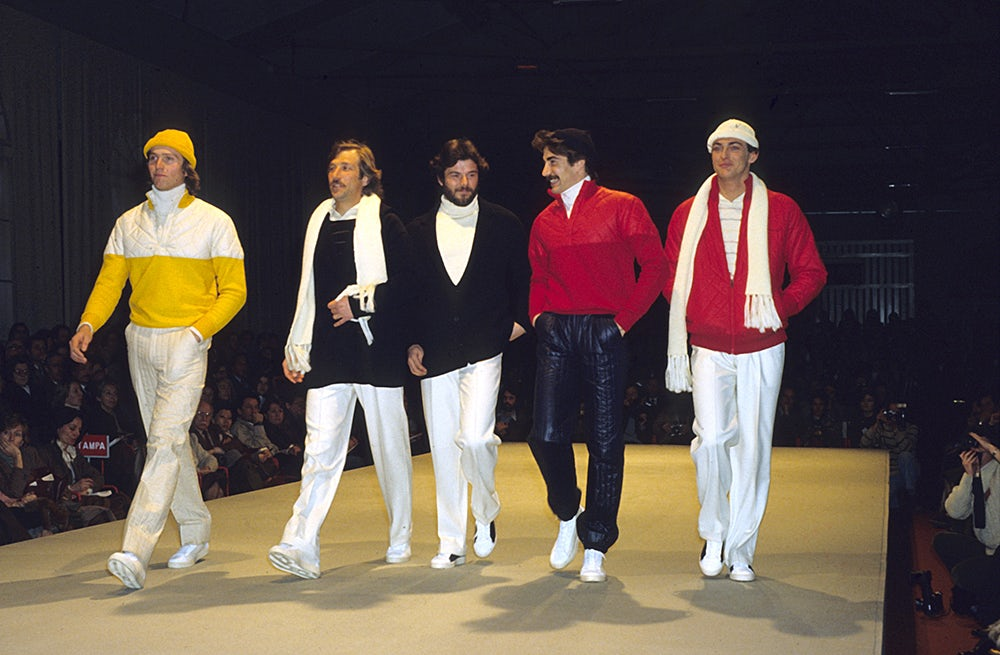 A 1981 Zegna show at Pitti Uomo | Source: Pitti Uomo