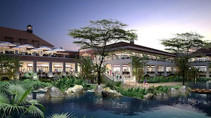 Rendering of The Hub Karen mall to open in Nairobi, Kenya in 2015 | Source: Knight Frank