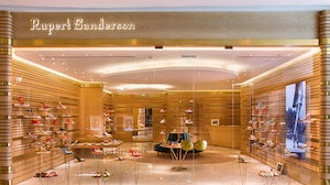 Rupert Sanderson store in IFC mall, Shanghai | Source: Courtesy