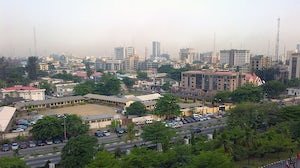 View of Victoria Island, Lagos, in Nigeria | Photo: Bill Retherford
