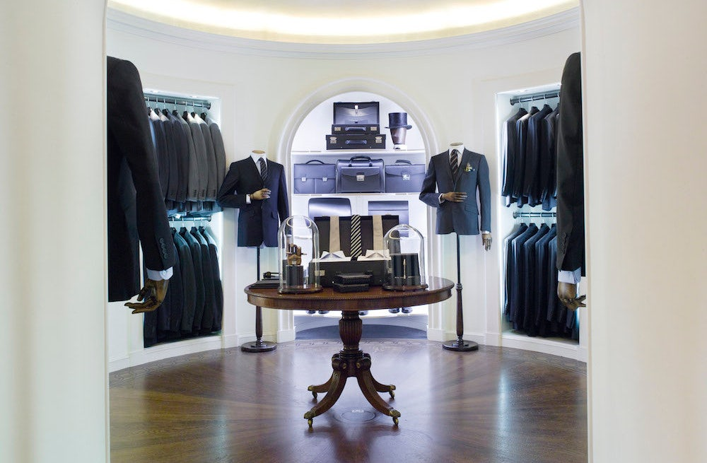 Inside Dunhill's Bourdon House in London | Source: Courtesy