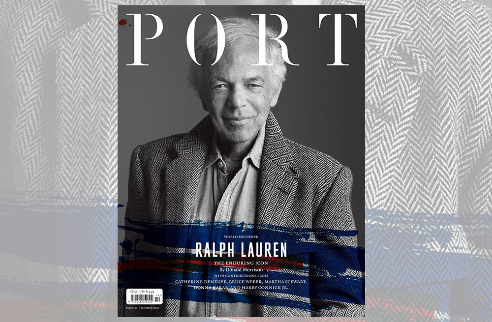 Port magazine Summer 2014, featuring Ralph Lauren | Source: Port