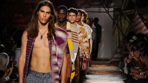 Missoni Mens S/S 2015 | Source: Associated Press