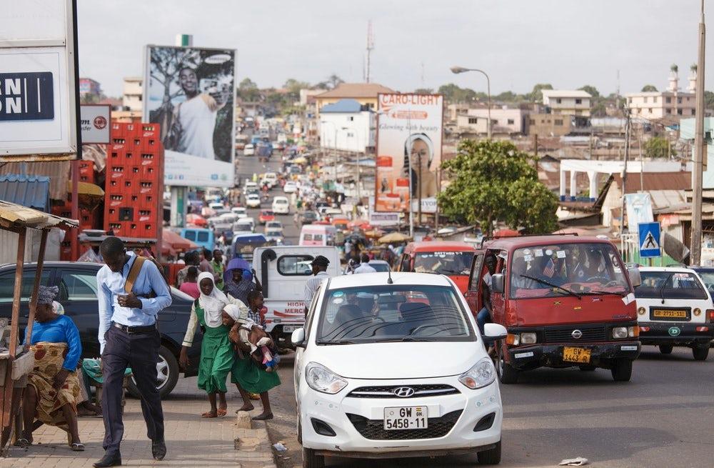 Ghana's capital Accra | Source: Shutterstock