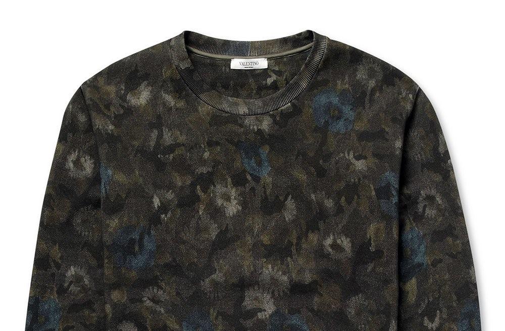 Valentino sweatshirt | Source: Mr Porter