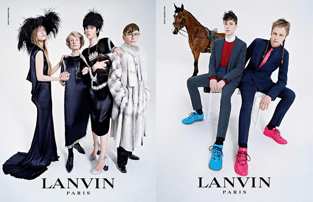 Lanvin Autumn/Winter Campaign 2014