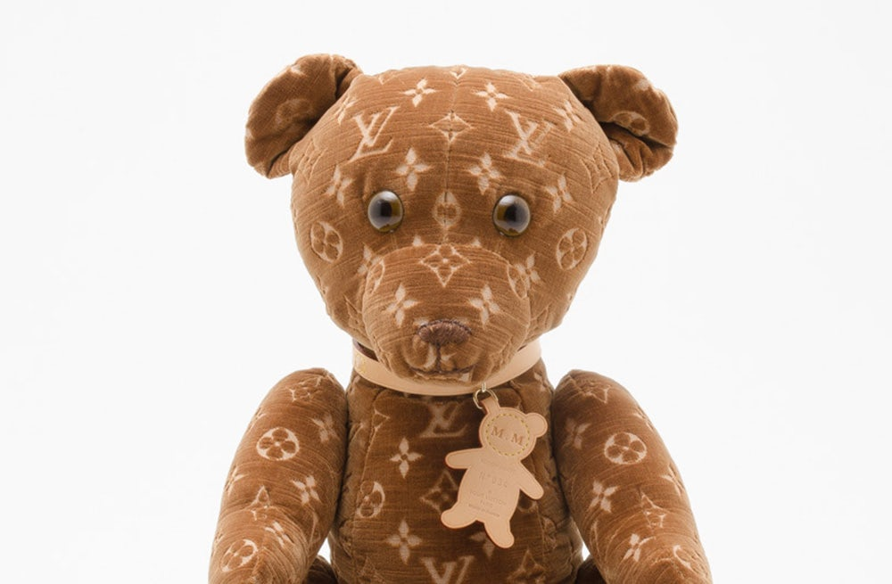 Louis Vuitton's 'Dou Dou' bears are among the rare items that can be found on EBay | Source: Louis Vuitton