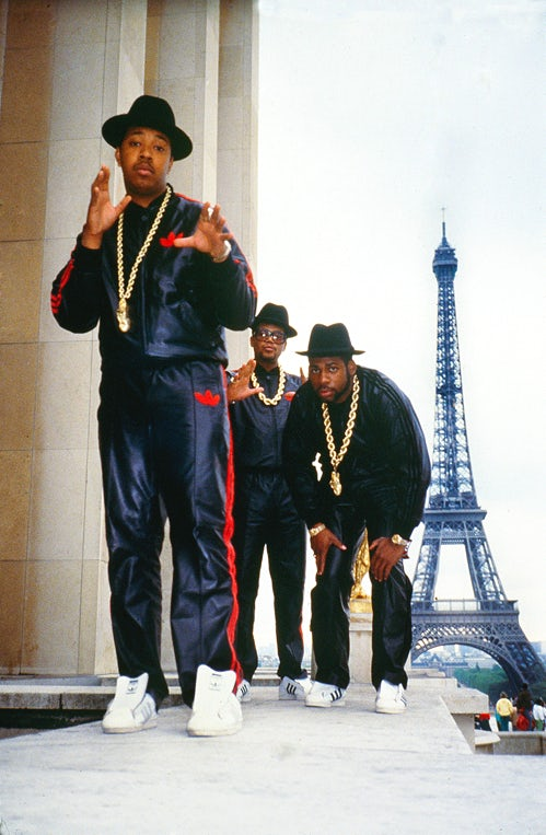 Run-D.M.C. in Paris on the Together Forever tour | Photo: Ricky Powell