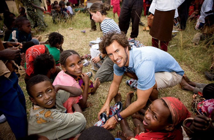 Blake Mycoskie of Toms in Ethiopia | Source: Toms