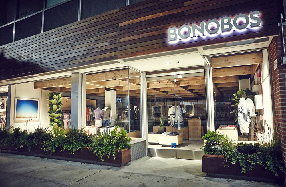 A Bonobos guideshop in Los Angeles | Photo: Koury Angelo for Bonobos