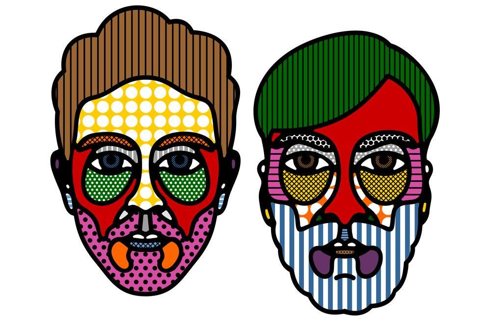 Craig & Karl self portraits | Source: Craig & Karl