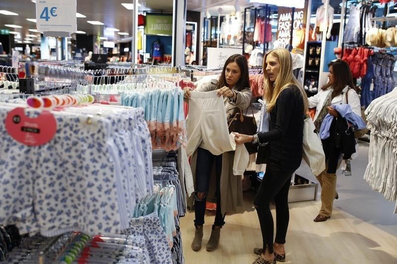 Shoppers in a Primark store | Source: Reuters