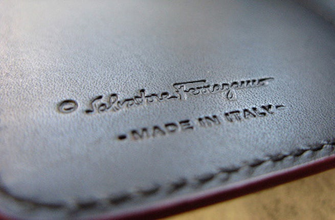 A made in Italy label | Source: The Business of Fashion