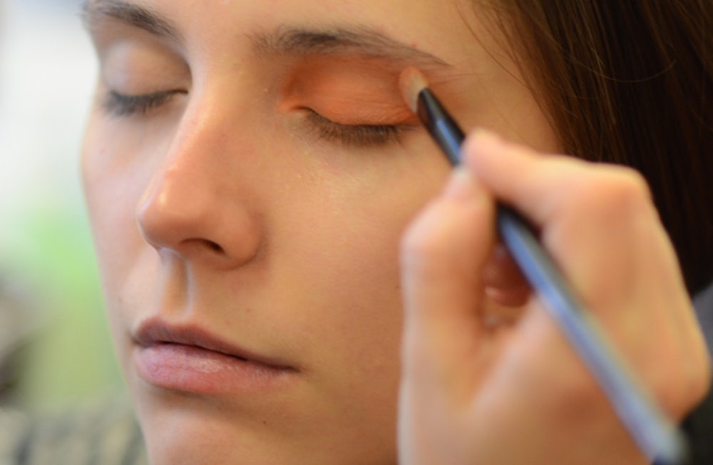Makeup applied on a model | Source: Shutterstock