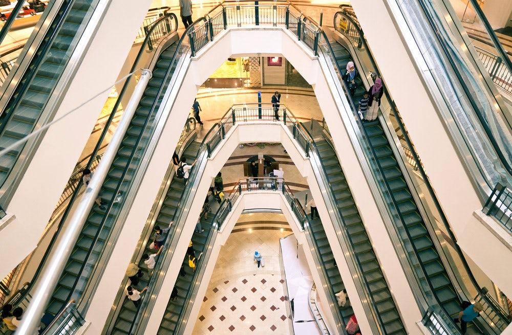 A shopping mall | Source: Shutterstock