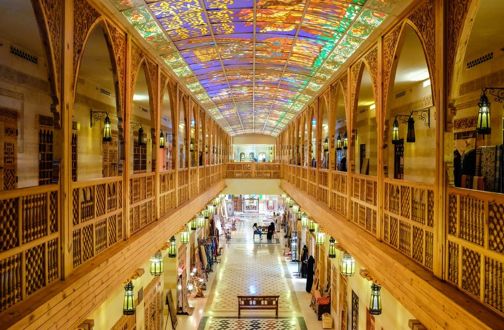 The Wafi Mall in Dubai | Source: Shutterstock