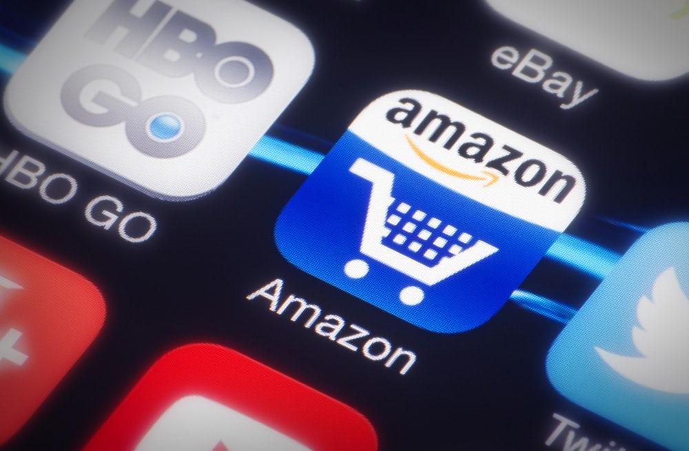 Amazon app   Source: Shutterstock