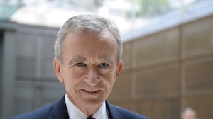 LVMH chairman Bernard Arnault | Source: Courtesy