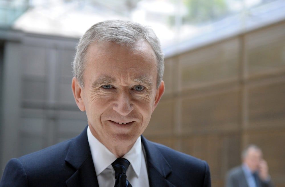 LVMH Chairman and CEO Bernard Arnault | Source: Courtesy