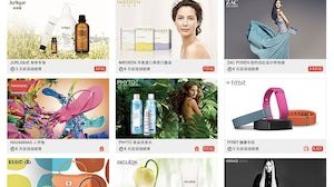 Chinese flash sales site Glamour Sales | Source: Glamour Sales China