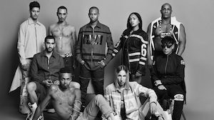 The HBA crew in 2013 | Photographer Jamie Morgan, a member of the 1980s creative group Buffalo, was commissioned by Style.com to shoot this image for its Style.com/print publication.
