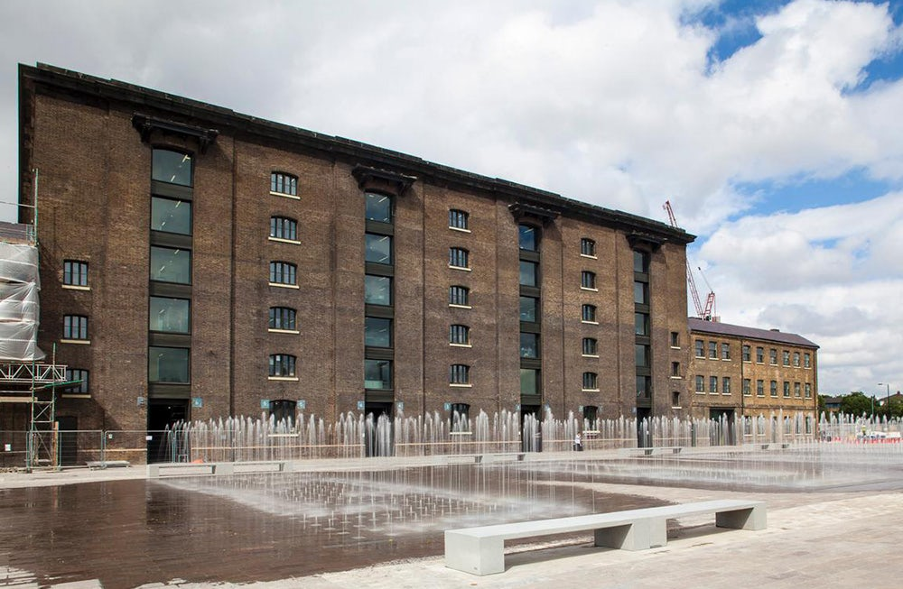 Central Saint Martins' campus at Kings Cross | Source: Kings Cross