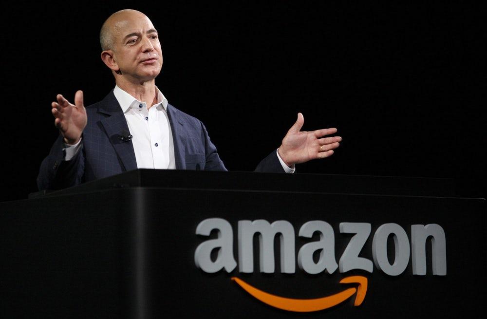Amazon's CEO Jeff Bezos | Source: Courtesy