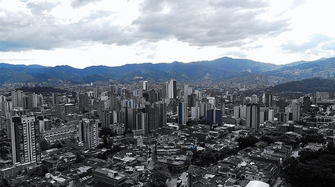 The modern city of Medellin, Colombia | Source: Iván Erre Jota via Flickr