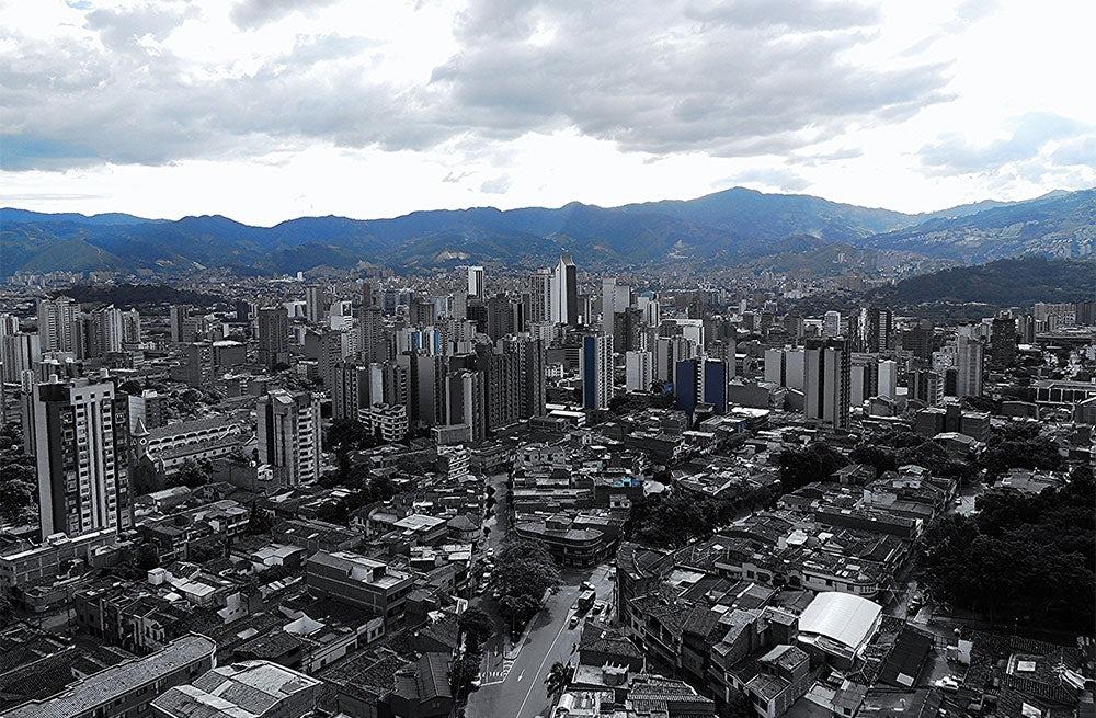 The modern city of Medellin, Colombia | Source: Iván Erre Jota via Flickr