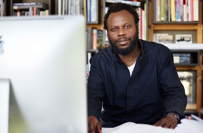 Olu Michael Odukoya, art director and publisher | Photo: Devin Blair