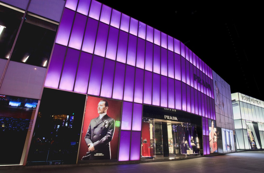 Prada store in Dalian, China | Source: Shutterstock