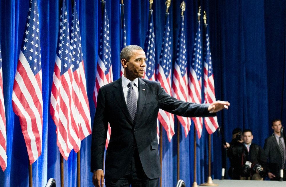 President Barack Obama | Source: Max Herman/Shutterstock