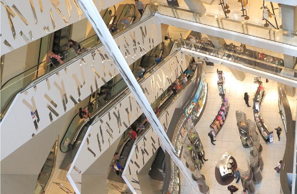 Inside a department store | Source: Shutterstock