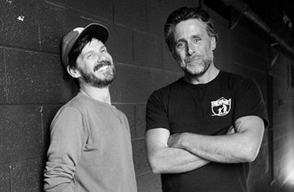 Guido Palau and David Sims | Photo: Alfredo Piola