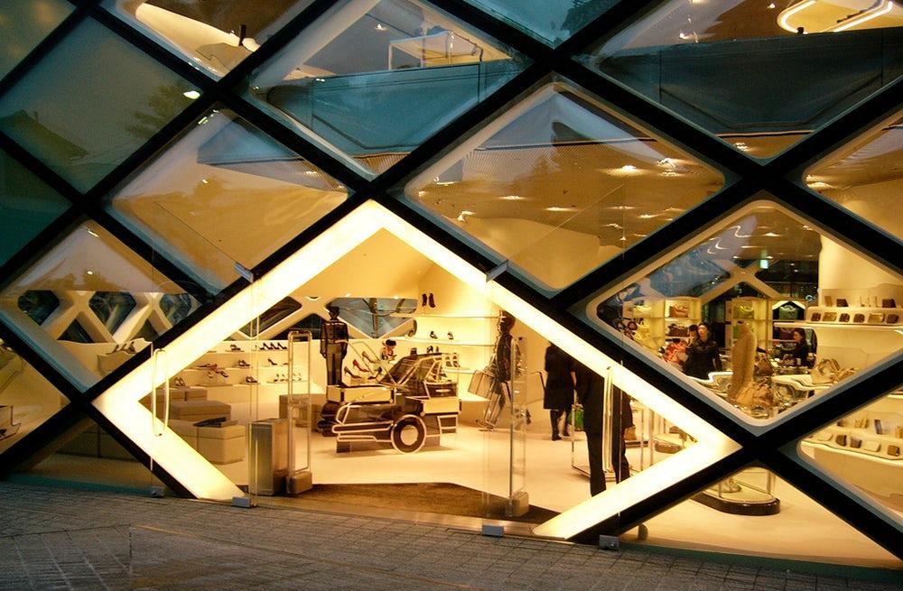 Prada store in Tokyo | Source: Flickr, Yuko
