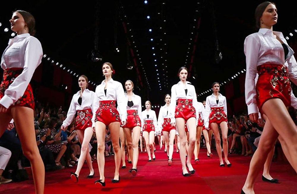 Dolce & Gabbana Spring/Summer 2015 | Source: Nowfashion.com
