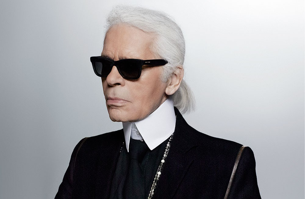 IMG KARL LAGERFELD, German Creative Director, Fashion Designer