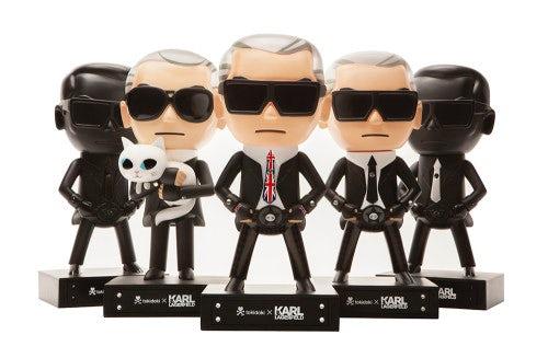 Karl Lagerfeld tokidoki dolls   Source: Karl Lagerfeld