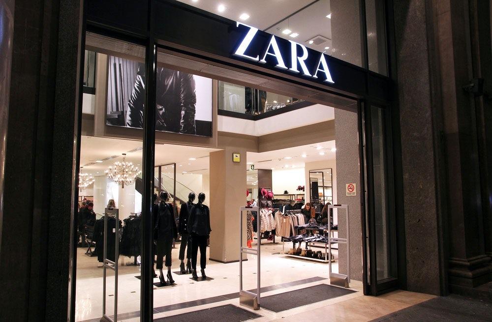 A Zara store | Source: Shutterstock