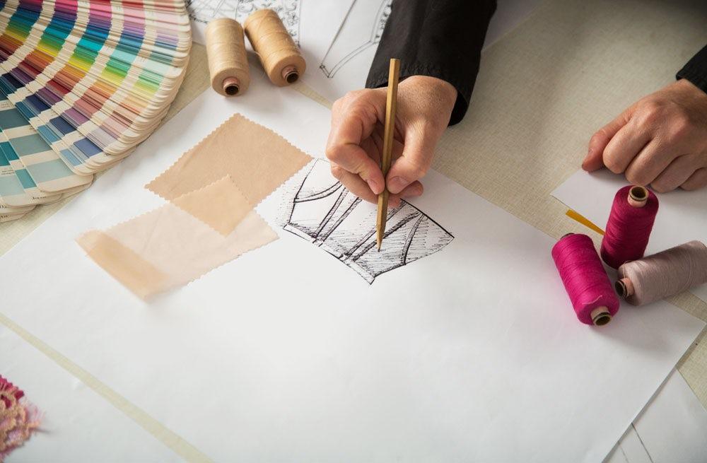 Designer at work   Source: Shutterstock