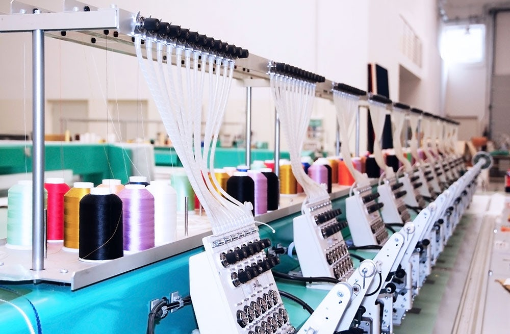 Inside a textile factory | Source: Shutterstock