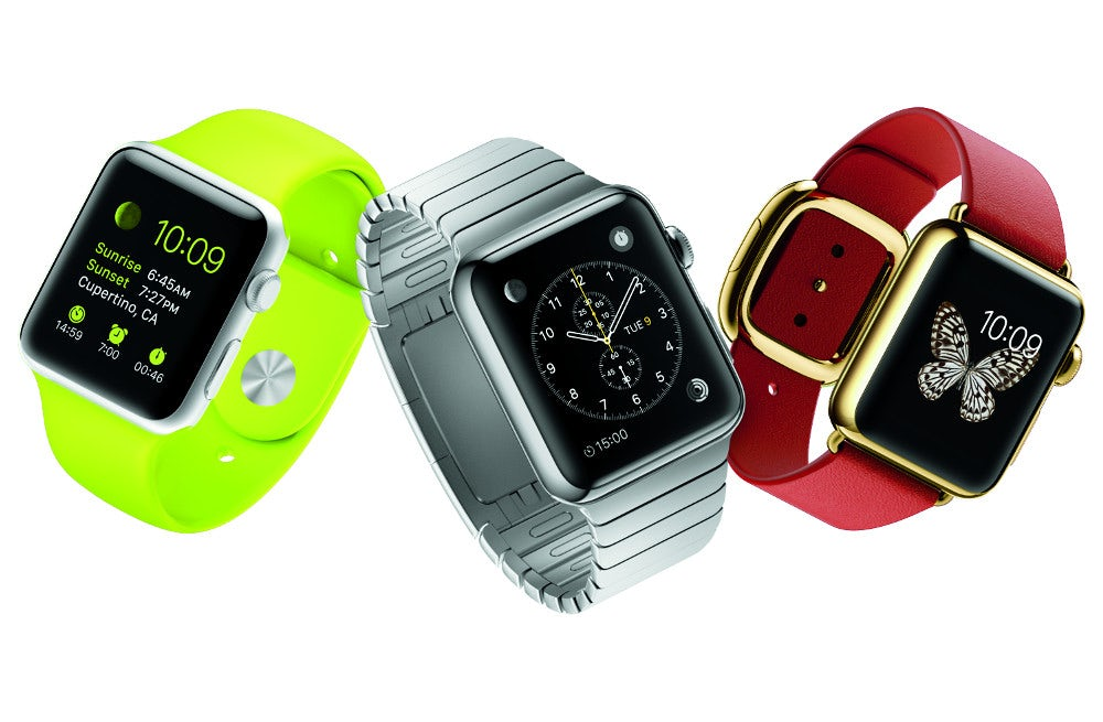 Variations of the new Apple Watch | Source: Apple