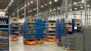 Inside the Quiet Logistics fulfilment centre in Devens, Massachusetts | Source: Quiet Logistics