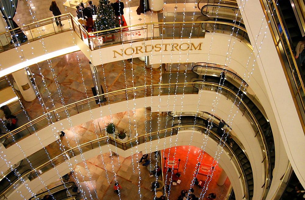 Inside Nordstrom department store   Source: Flickr, Tom Bridge