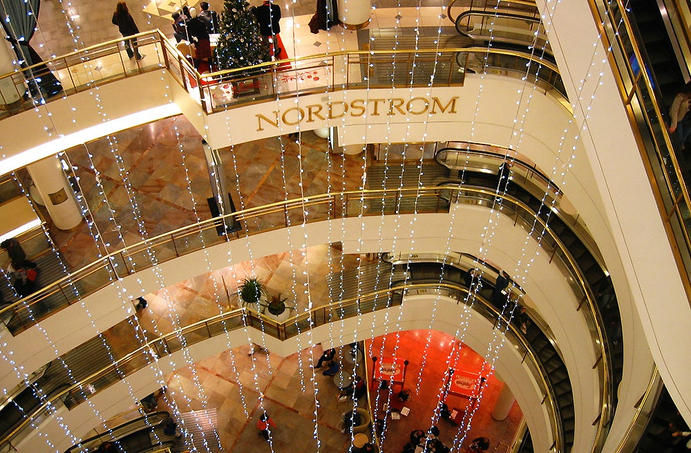 Inside Nordstrom department store | Source: Flickr, Tom Bridge