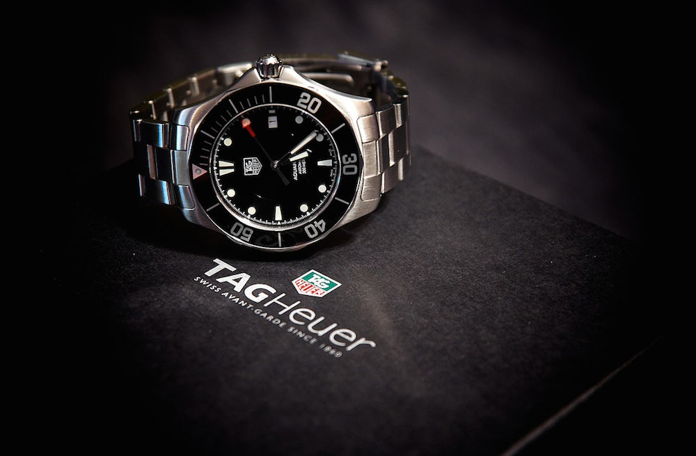 Tag Heuer watch | Source: Flickr